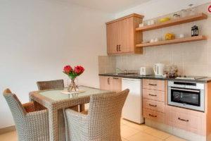 Limoni Self Catering Luxury Suites - Luxury Suite Dining Room