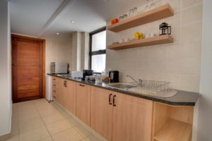 Limoni Self Catering Luxury Suites - Luxury Suite Kitchen